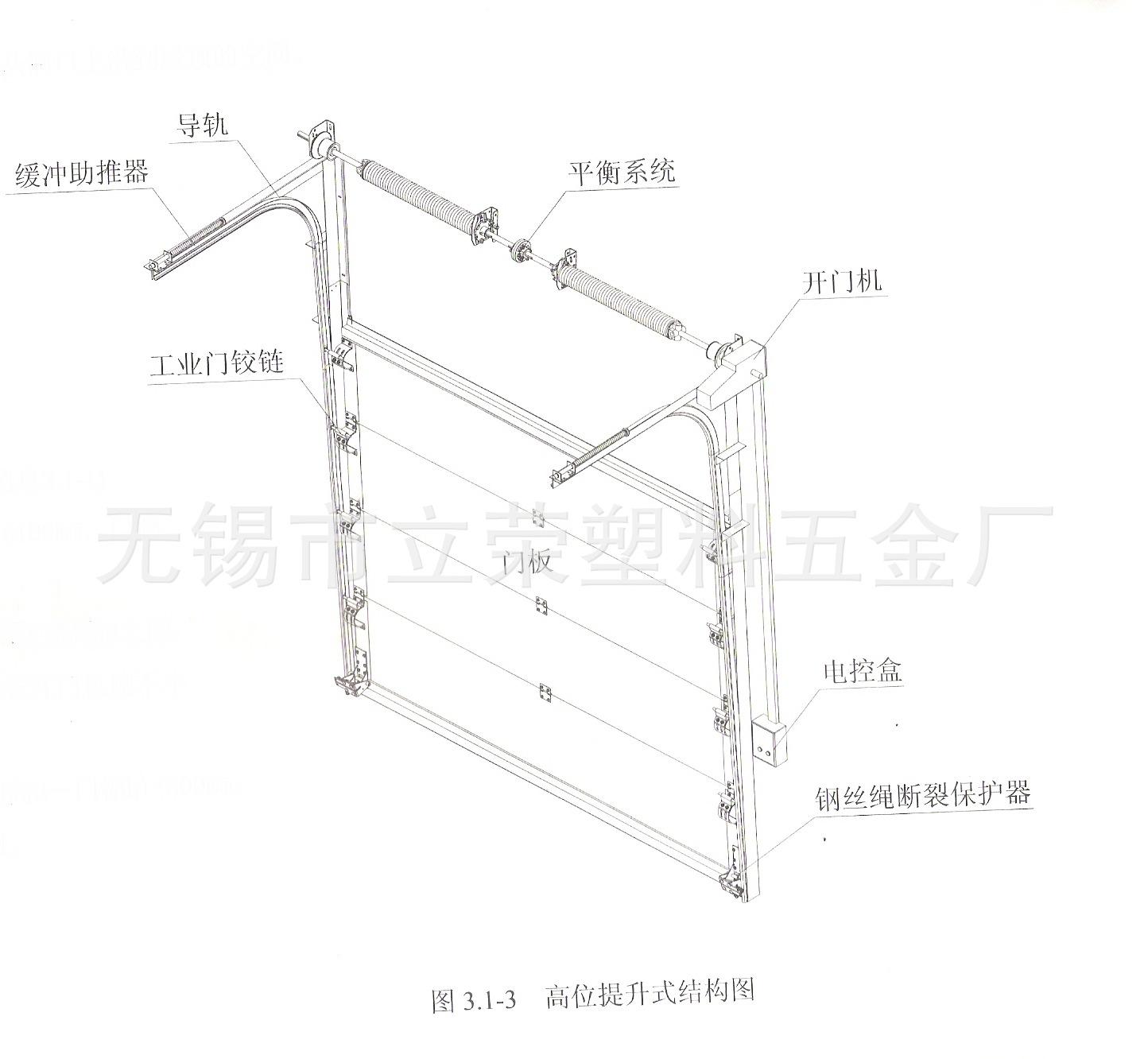 地面非机动车库钢结构图