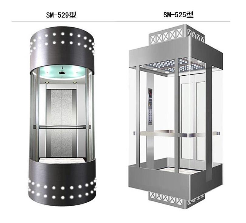 【观光电梯 家用电梯 别墅电梯