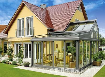 别墅阳光房 彩钢顶阳光房 露台阳光房 庭院阳光房制作设计