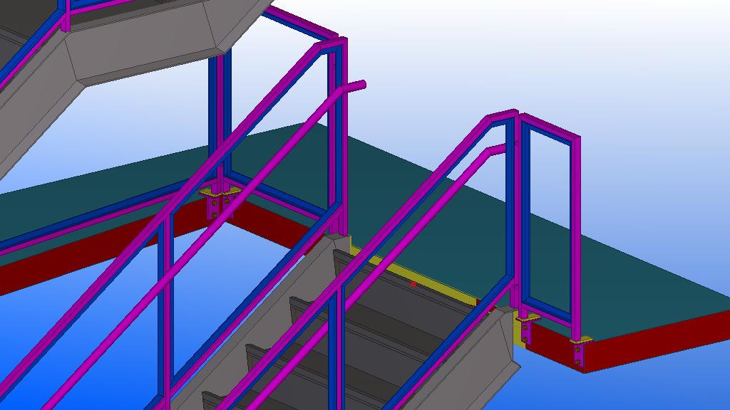 不易受立柱,楼面等结构影响,结实牢固.