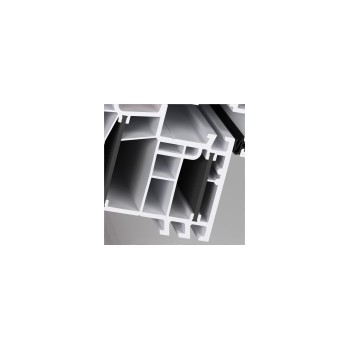 材料商城,门窗/纱窗/通风器,断桥隔热铝合金门窗,aluplast60系列白色样角
