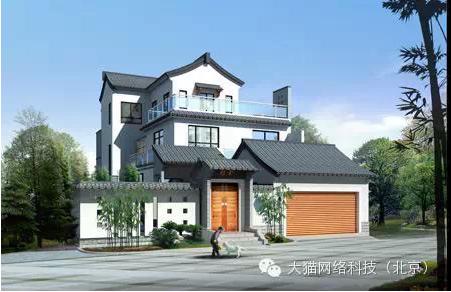 4,新中式建筑