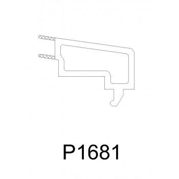 P1681 - 单玻压条 - ORTA推拉窗系列