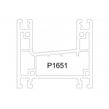 P1651 - 推拉框(58mm) - ORTA推拉窗系列