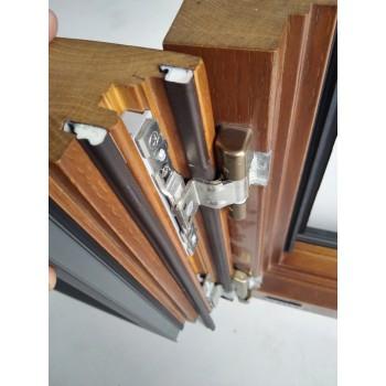 铝包木木窗用环保隔热PU包覆式大小密封胶条