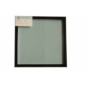 晶美 单银6Low-e+12A+6(结构胶)双钢中空Low-e玻璃