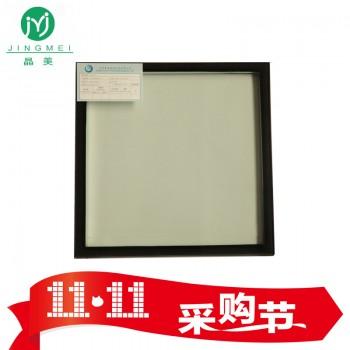 晶美 双银LOW-E节能玻璃 6Low-e+12A+6白钢
