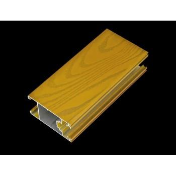 材料商城,铝材/塑材/其它型材,铝合金门窗型材,隔热铝合金门窗型材,4D氟碳立体木纹