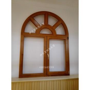 伊尔墨纯实木窗 铝包木窗