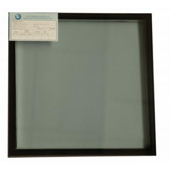 6low-e+12A+6中空双钢化玻璃