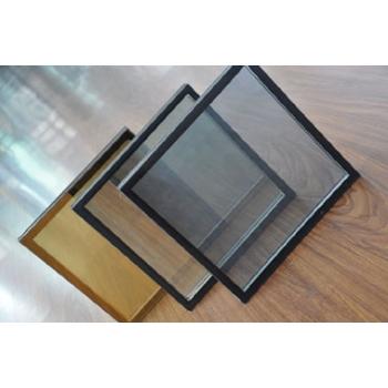 8low-e+12A+8中空双钢化玻璃