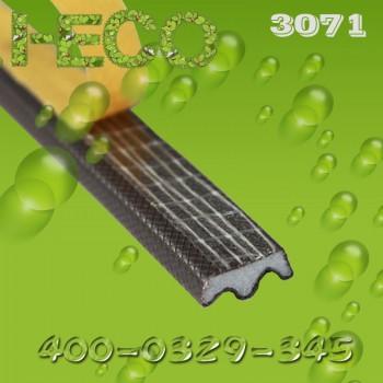 铝木复合窗用的聚氨酯包覆式橡胶条