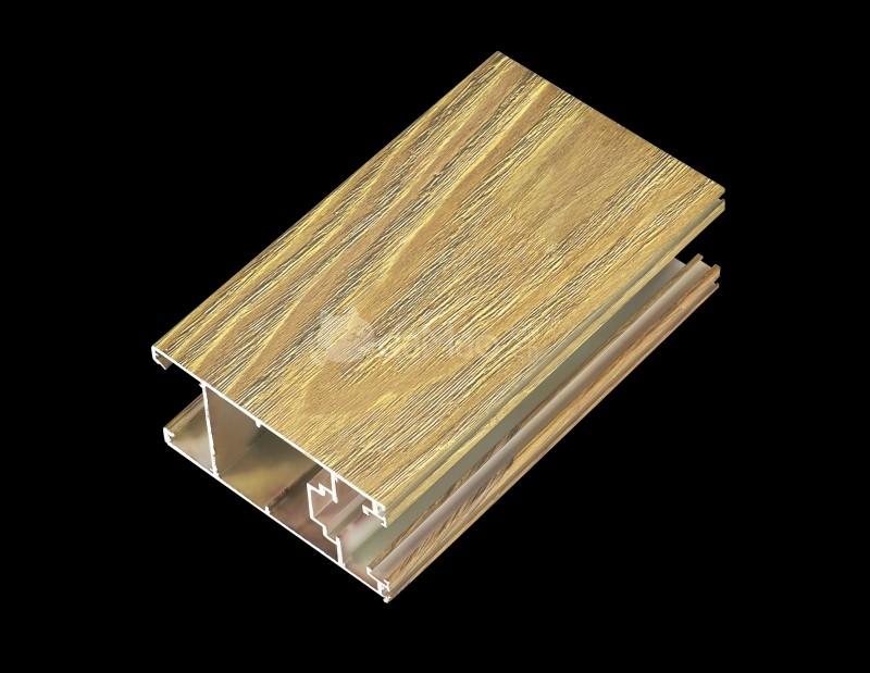 材料商城_铝材/塑材/其它型材_铝合金门窗型材_隔热铝合金门窗型材_4D氟碳立体木纹