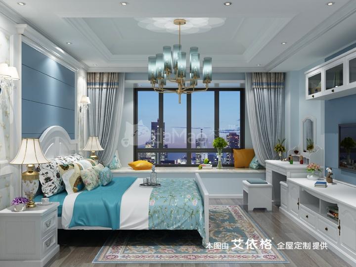140㎡欧式定制家具高档公寓装修方案
